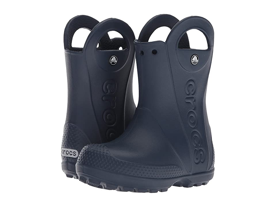 Crocs Kids Handle It Rain Boot (Toddler/Little Kid) (Navy) Kids Shoes