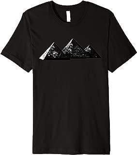 Black Pyramid Monument Shirt Illuminati Dank Meme Gift Premium T-Shirt