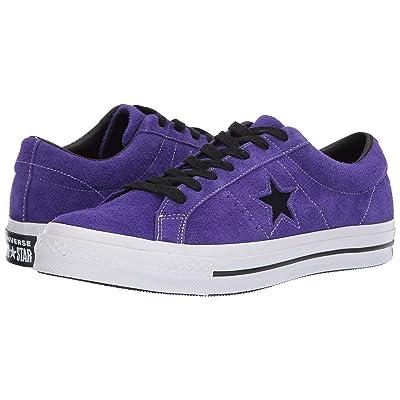 Converse One Star Dark Star (Court Purple) Shoes