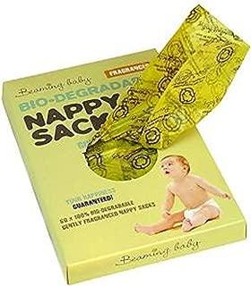 Bio-Degradable Nappy Sacks Fragranced- (60 sacks ) Beaming Baby