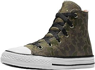 Converse All Star Hi Surplus Crimson Pulse Camo Girls Kids Youth Shoes Hi top