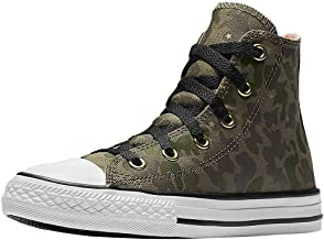 Converse All Star Hi Surplus Crimson Pulse Camo Girls Kids Youth Shoes Hi top