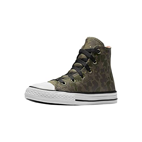 f1d2d7ed21da Converse All Star Hi Surplus Crimson Pulse Camo Girls Kids Youth Shoes Hi  top