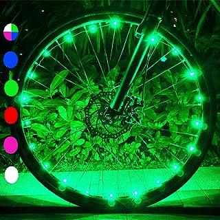 Xyemao Led Bike Wheel Lights, (2 Tire Pack) Waterproof...