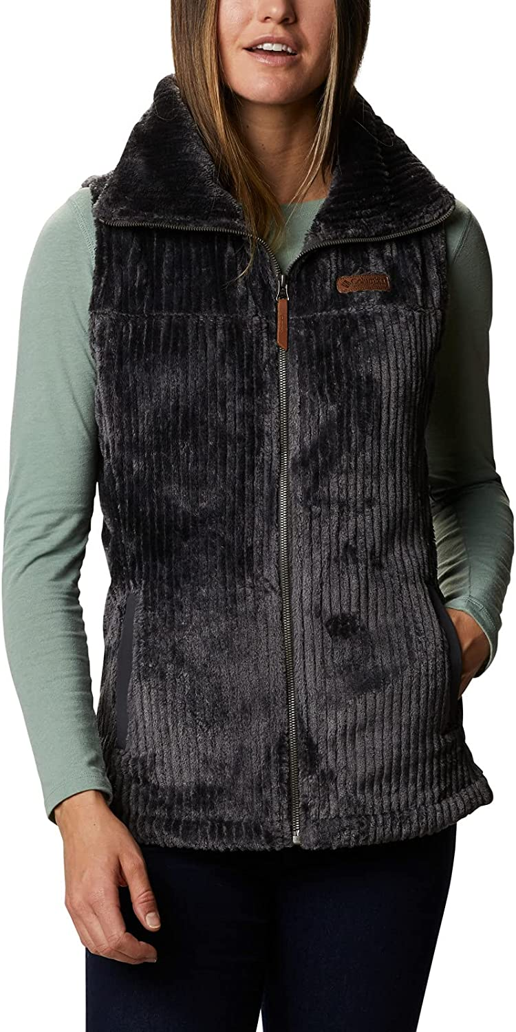 Columbia Women's Fire Sherpa Side Cheap mail order shopping Discount mail order Vest