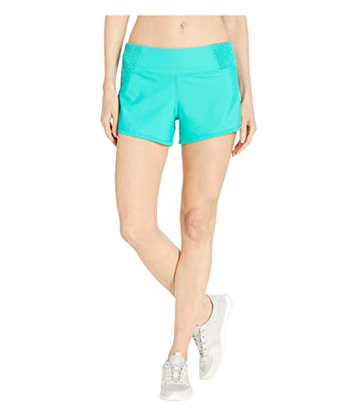 Prana Chantel Shorts (Aqua Wave) Women