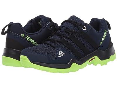 adidas Outdoor Kids Terrex AX2R (Little Kid/Big Kid) (Tech Indigo/Black/Signal Green) Boys Shoes