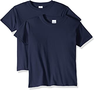 Gildan Unisex-Child G5000BP2 Heavy Cotton Youth T-Shirt, 2-Pack Short Sleeve T-Shirt