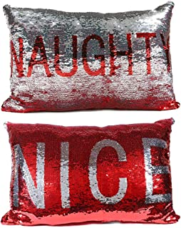 Best naughty and nice pillows Reviews