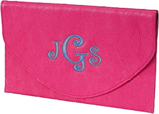 Envelope Clutch with Wristlet Strap and Chain in Fun Summer ColorsCan Be Personalized