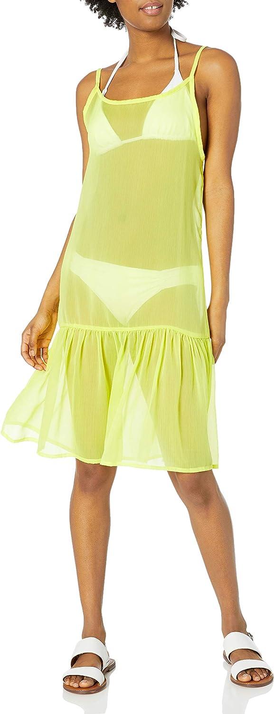 RACHEL Rachel Roy Women's Standard Ruffle Hem Dress Style Swim Coverup