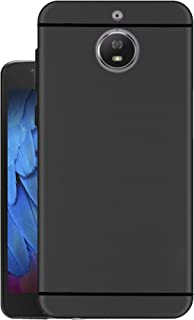 Hello Zone Exclusive Matte Finish Soft Back Case Cover for Moto G5s Cover [5.2 inch August 2017] - Black