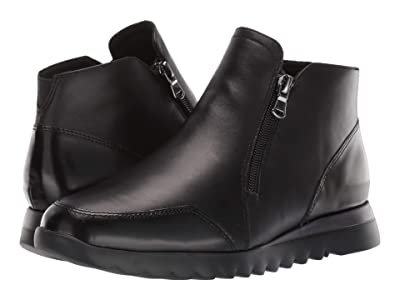 Munro Danika (Black Leather Combo) Women