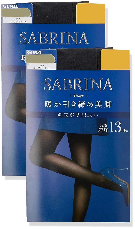 [グンゼ] タイツ サブリナ シェイプ 暖か引き締め美脚 30デニール 同色2足組 SBW26 レディース