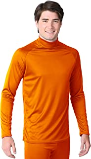 product image for WSI Sports Microtech Form Fit Long Sleeve, Blaze Orange, Youth Large