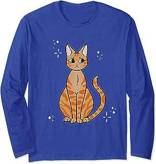 Caramel Kitty Long Sleeve Cat Shirt