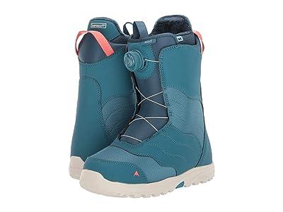 Burton Mint Boa(r) Snowboard Boot (Storm Blue) Women