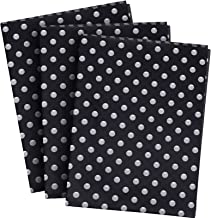 Shappy 30 Sheets Polka Dots Tissue Paper Dot Wrapping Paper for Halloween Thanksgiving DIY Craft Wrapping Supplies (Color ...