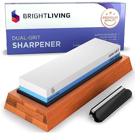 Whetstone Angle Rail Sharpening Stone Grinder Kitchen Guide Sharpener G5L1