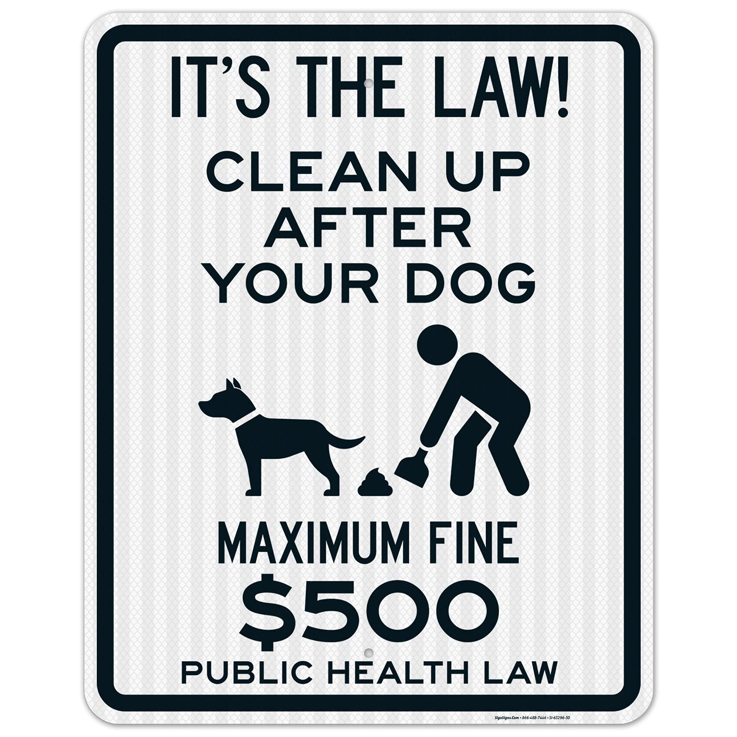 It's The Law Clean Up After Your Maximum Public He Dog Super special price $500 Fine Ranking TOP4