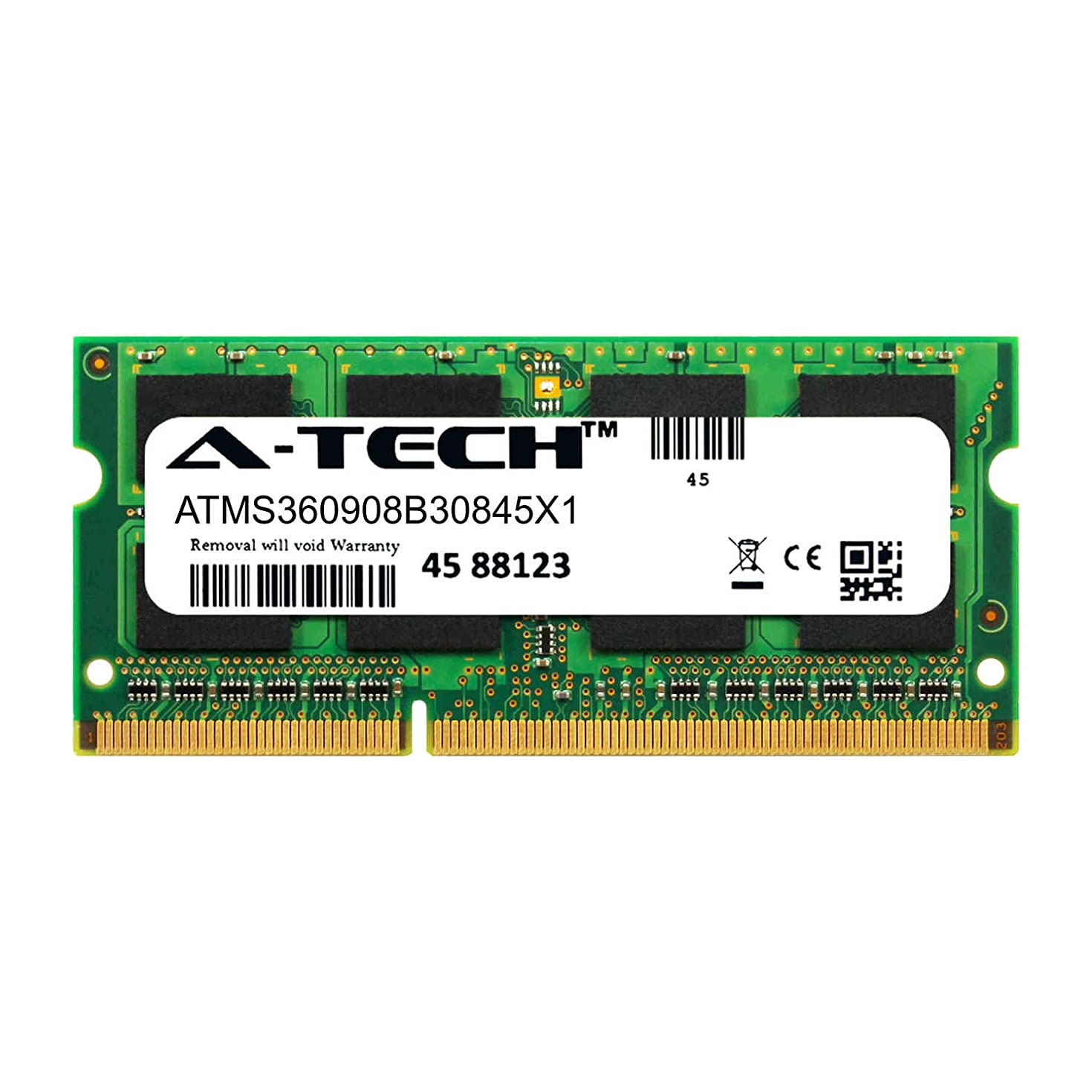 A-Tech 8GB Module for Lenovo Yoga 3-14 Laptop & Notebook Compatible DDR3/DDR3L PC3-14900 1866Mhz Memory Ram (ATMS360908B30845X1)