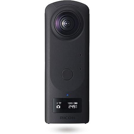 リコー THETA Z1 51GB ブラック 360度カメラ 【THETAシリーズのフラッグシップモデル】【1.0型裏面照射型CMOSセンサー搭載】【内蔵メモリー51GB】【23MP高解像静止画】【手ブレ補正機能搭載 4K動画】【HDR合成】【高速無線転送】ビジネスシーンで大活躍 910831