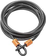 Sterling 129C 12mm x 9m dubbele lus vinyl gecoate multi-gestrande gevlochten stalen kabel met zelfspoelen-zwart
