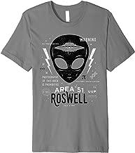 Area 51 Roswell Alien UFO Flying Saucer Gift Premium Tee