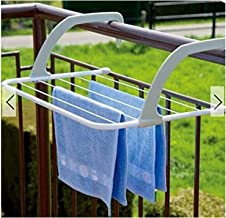 Lucoo Drying Rack, Indoor/Outdoor Easy Install Folding Clothes Drying Rack-Hanging Over The Door or on Bathroom Windowsill...