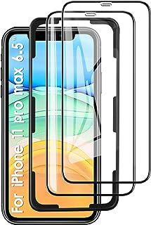 KuGi. Vetro Temperato per iPhone 11 PRO Max Pellicola, Vetro Temperato [Anti-Bolla] [Durezza 9H] Applicare Disegnato per i...