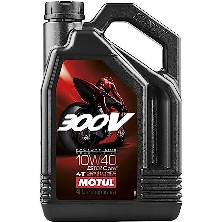 Motul 300V 4T Factory Line 10W-40 Synthetic Oil 4 Liters (104121)