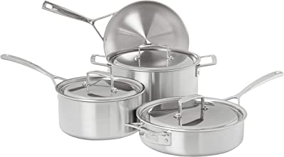 ZWILLING Aurora 5-Ply Stainless Steel 7-Piece Cookware Set