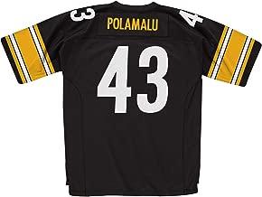 Mitchell & Ness Troy Polamalu Pittsburgh Steelers Black 2005 Legacy Replica Jersey