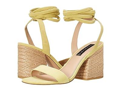 STEVEN NEW YORK Yasi (Yellow Suede) High Heels