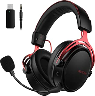 Mpow Air 2.4G Wireless Gaming Headset for PS5/PS4/PC Computer Headset with Dual Chamber Driver,Upto 17 hours of Use, Noise...