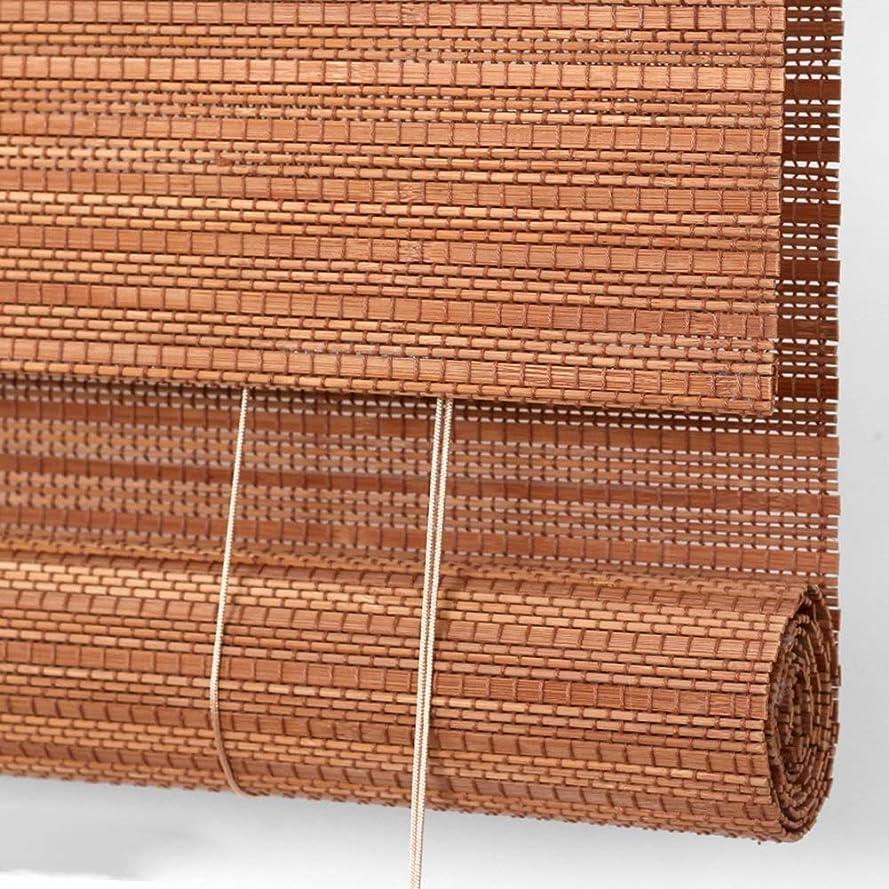 テーブル出演者マイルドロールスクリーン 自然なタケは窓のブラインドを転がします、取付けること容易な日除け、喫茶店/ドアのカーテンのためのプライバシーの仕切りの装飾 (Size : W70cm×H150cm)