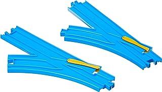 Takara Tomy Plarail Turn-Out Rail Parts, Blue