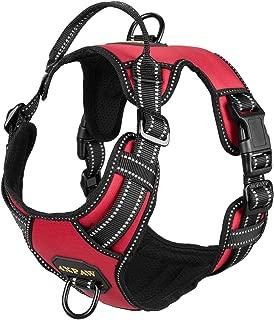 rogz reflective dog h-harness