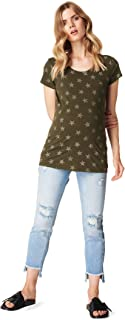 SUPERMOM Tee SS Star T-Shirt Premaman Donna