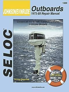 Sierra International Seloc Manual 18-01302 Johnson/Evinrude Outboards Repair 1973-1989 1.25-60 HP 1-2 Cylinder 2 Stroke Model