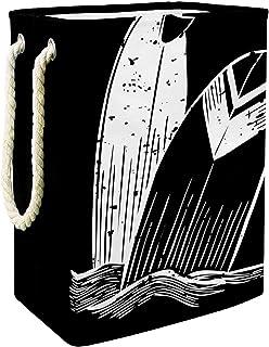 Vockgeng Le Surf Accueil Organisation Panier de Rangement imperméable Pliable de Jouets de Jouets de Panier avec des poign...