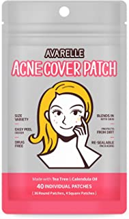 Acne Pimple Patch Absorbing Cover Blemish VARIETY PACK / 40 PATCHES