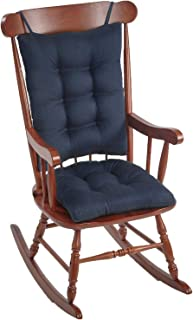 The Gripper Non-Slip Omega Jumbo Rocking Chair Cushions, Indigo