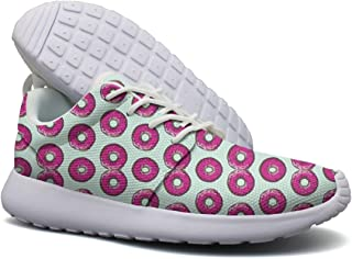 DEEEWKF Delicious Donuts Near Me Doughnut Plant Men Ultra Lighweight Campus Shoes