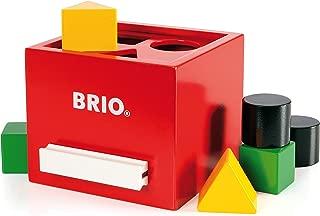 brio wooden shape sorter