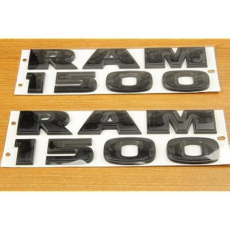 OEM Mopar! Logo NEW 2009-2014 Dodge Ram 1500-3500 Black Tailgate Emblem