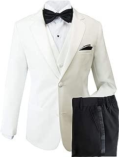 ivory and black tuxedo