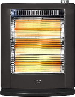 [山善] 遠赤外線電気ストーブ(990W/660W/330W 3段階切替) ブラックメタリック DSE-C106(B) [メーカー保証1年]
