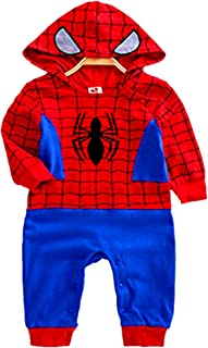 VogueFashion Baby Superhero Jumpsuit with Removable Cape