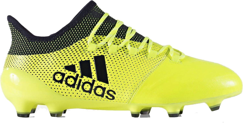 Adidas Performance herr X 17.1 läder Firm Ground Football stövlar -gul